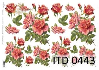 Decoupage paper ITD D0443M