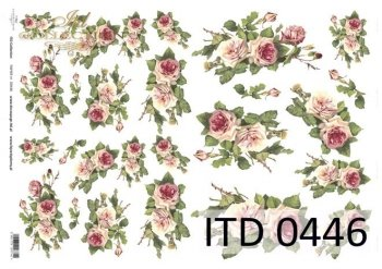 Decoupage paper ITD D0446