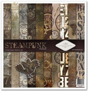 Scrapbooking papers SLS-003 ''Steampunk''