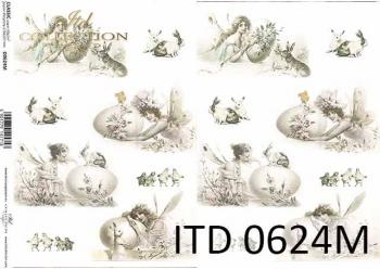 Decoupage paper ITD D0624M