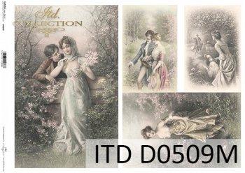 Decoupage paper ITD D0509M