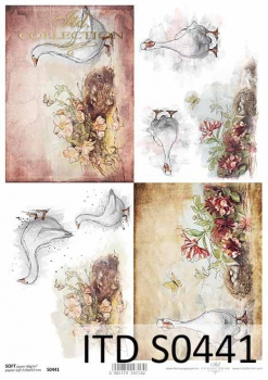 Decoupage paper Soft ITD S0441