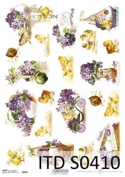 Decoupage paper Soft ITD S0410