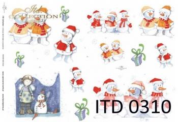 Decoupage paper ITD D0310M