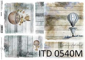 Decoupage paper ITD D0540M