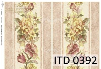 Decoupage paper ITD D0392