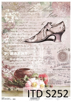 Decoupage paper Soft ITD S0252
