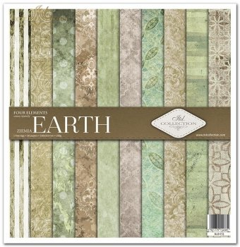 Scrapbooking papers SLS-013 ''Four elements-Earth''
