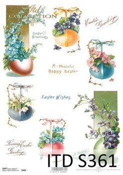 Decoupage paper Soft ITD S0361