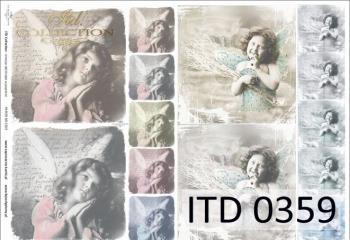 Decoupage paper ITD D0359M