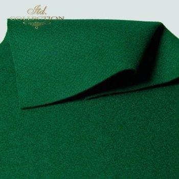 Filc dekoracyjny miękki zielony F005
