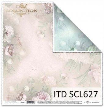 Papier scrapbooking SCL627
