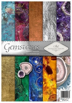 Papier do scrapbookingu SCRAP-053 ''Gemstones''