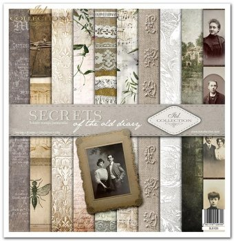 Zestaw do scrapbookingu SLS-025 Secrets of the old diary