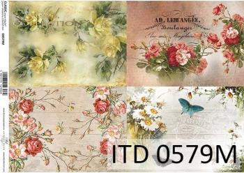 Papier decoupage ITD D0579M