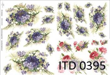 Papier decoupage ITD D0395M