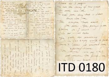 Papier decoupage ITD D0180