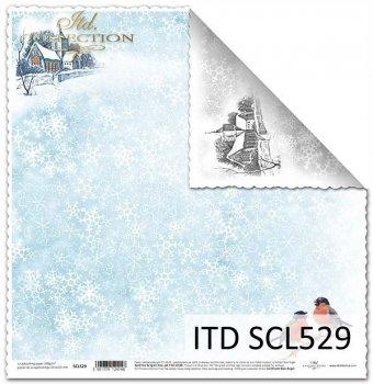 Papier scrapbooking SCL529