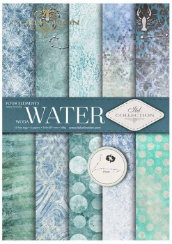 .Papier do scrapbookingu SCRAP-028 ''Water