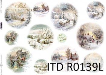 Papier ryżowy ITD R0139L