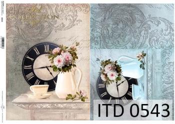 Papier decoupage ITD D0543