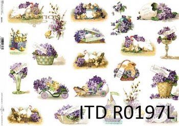 Papier ryżowy ITD R0197L