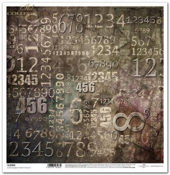 Papier scrapbooking SL0982