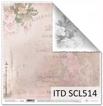Papier scrapbooking SCL514
