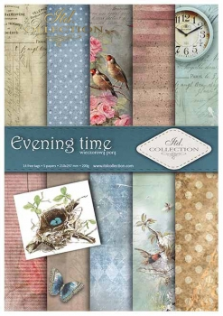 .Papier do scrapbookingu SCRAP-011 ''Evening time''