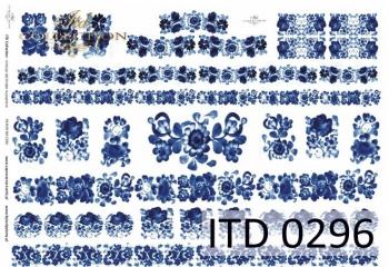 Papier decoupage ITD D0296