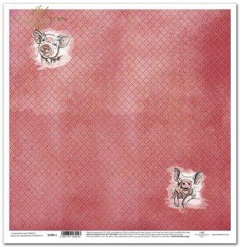 Papier scrapbooking SL902-1