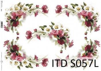 Papier decoupage SOFT ITD S0057L
