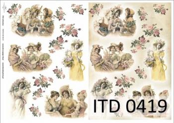 Papier decoupage ITD D0419M