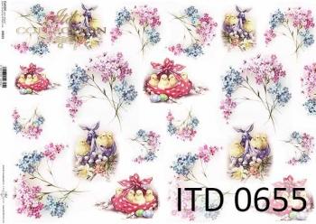 Papier decoupage ITD D0655