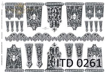 Papier decoupage ITD D0261