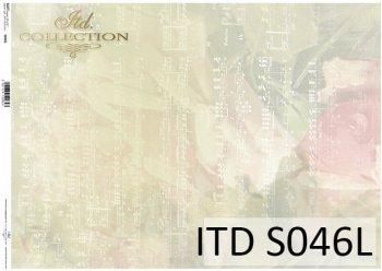 Papier decoupage SOFT ITD S0046L