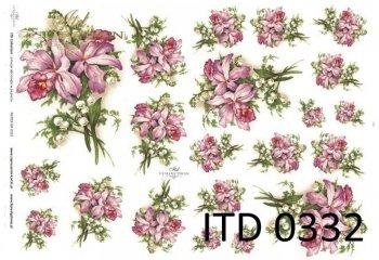 Papier decoupage ITD D0332