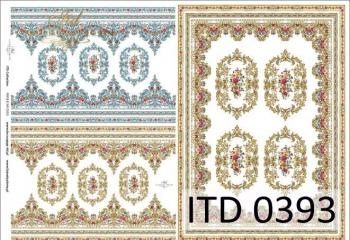 Papier decoupage ITD D0393M
