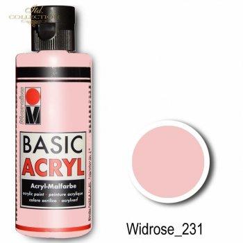 Farba akrylowa Basic Acryl 80 ml Widrose 231