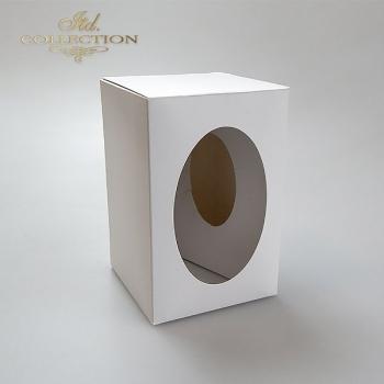 .Pudełko na jajko 7 cm do decoupage 10 sztuk