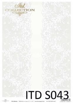 Papier decoupage SOFT ITD S0043