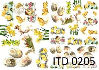 Papier decoupage ITD D0205M