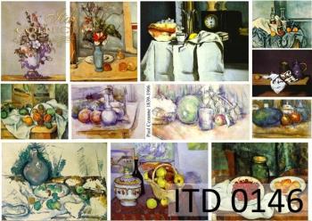 Papier decoupage ITD D0146