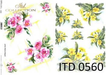 Papier decoupage ITD D0560