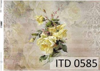 Papier decoupage ITD D0585