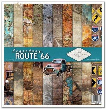 Zestaw do scrapbookingu SLS-038 Legendary ROUTE 66