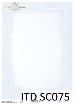Papier scrapbooking SC0075