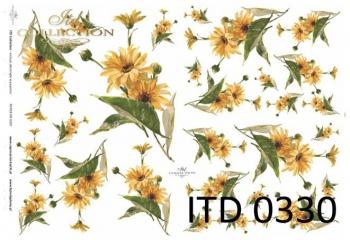 Papier decoupage ITD D0330M