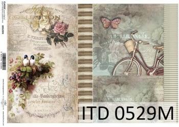 Papier decoupage ITD D0529M