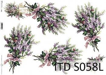 Papier decoupage SOFT ITD S0058L